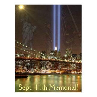 Sept. 11th Memorial! Postcard