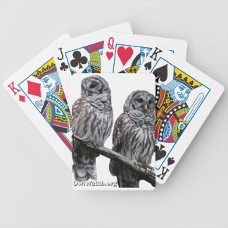 Sept 2014 - OwlWatch Owls Bicycle Playing Cards
