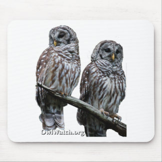 Sept 2014 - OwlWatch Owls Mouse Pads