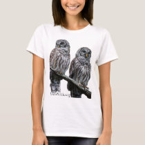 Sept 2014 - OwlWatch Owls T-Shirt