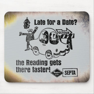 Septa Reading Lines Service Mouse Pad