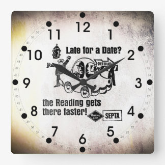 Septa Reading Lines Service Wall Clock