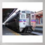 SEPTA Silverliner IV #111 At Wilmington Poster