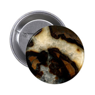 Septarian concretion button