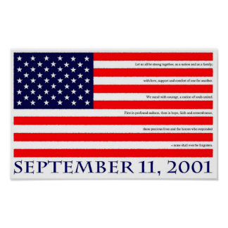 September 11, 2001 posters