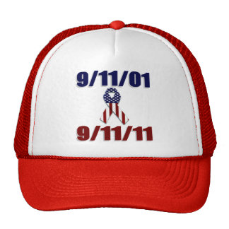 September 11, 2001 Ten Year Anniversary Trucker Hats