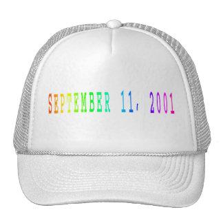 September 11, 2001 trucker hat