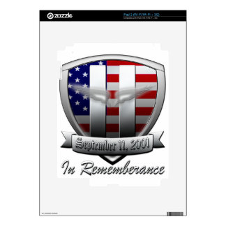 September 11, 2011 decals for iPad 2