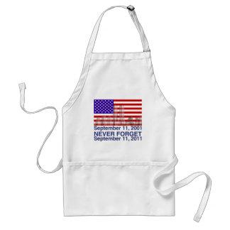 September 11 adult apron