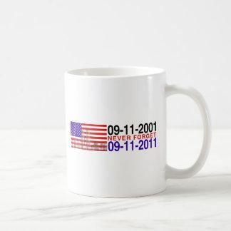 September 11 coffee mug