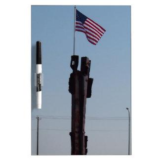 September 11 Memorial in Kennewick Washington Dry-Erase Board