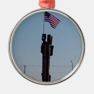 September 11 Memorial in Kennewick Washington Metal Ornament