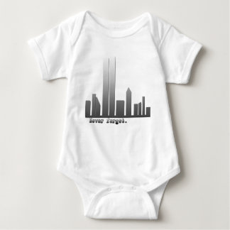 September 11 Never Forget Products Baby Bodysuit