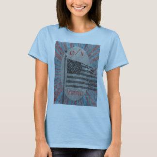September 11 Remembrance Flag Women's Shirt