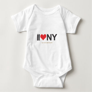 September 11 Twin Towers Love NY Baby Bodysuit