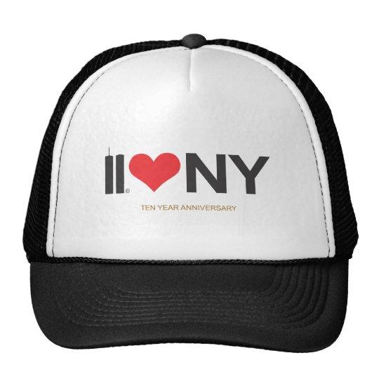 September 11 Twin Towers Love NY Trucker Hat