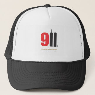 September 11 Twin Towers Love NY Trucker Hat