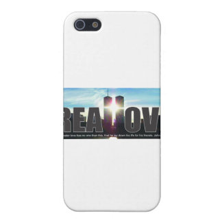 September 11 Twin Towers Real Love Cover For iPhone SE/5/5s