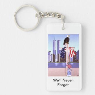 September 11th, 2001 keychain