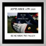 SEPTEMBER 11TH 2001 REMEMBER THE FALLEN POSTER