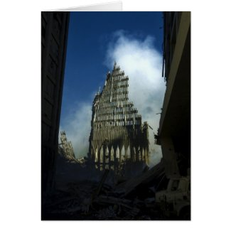September 11th 2001 World Trade Center Remains Cards