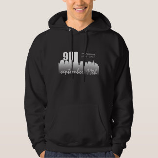 September 11th 9/11 10th Anniversary Black Hoodie