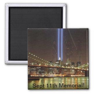 September 11th Memorial Magnet