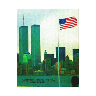 SEPTEMBER 11TH TRIBUTE CANVAS PRINT