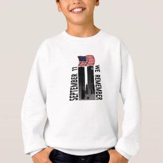 September 11th We Remember Memorial Tribute Sweatshirt
