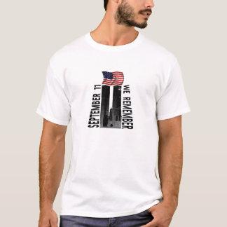 September 11th - We Remember Memorial Tribute T-Shirt