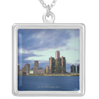 September 2000. From Windsor, Ontario, Canada Silver Plated Necklace