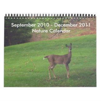 September 2010 - December 2011 Nature Calendar