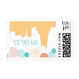 September 6, 2015 wedding stamps