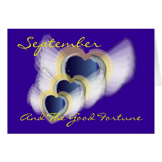 September and the Good Fortune! - Customized Card