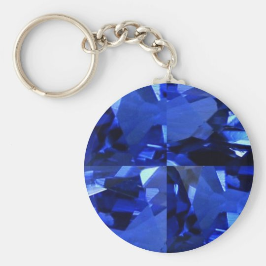 September Birthstone Gems Keychain