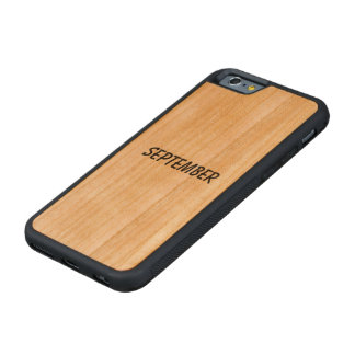 september carved cherry iPhone 6 bumper case