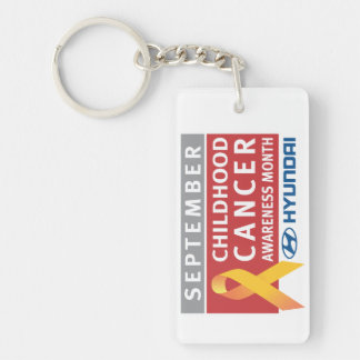 September Childhood Cancer Awareness Month Keychai Acrylic Key Chain