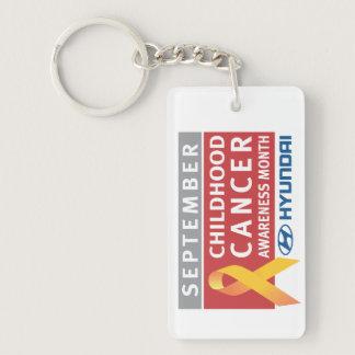 September Childhood Cancer Awareness Month Keychai Keychain