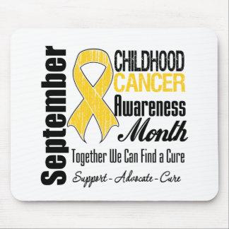 September Childhood Cancer Awareness Month Mouse Pad