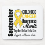 September Childhood Cancer Awareness Month Mousepads