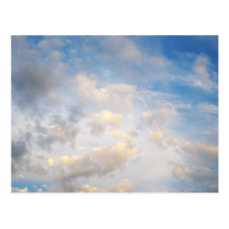 September Clouds Postcard