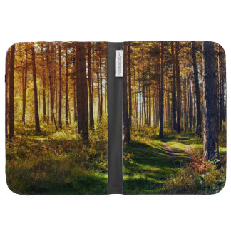 September Forest Kindle Folio Cases