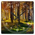 September Forest Clocks