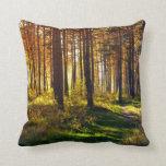 September Forest Pillow