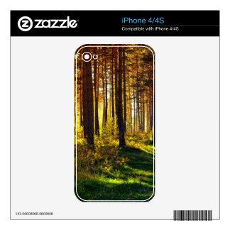 September Forest Skin For iPhone 4S