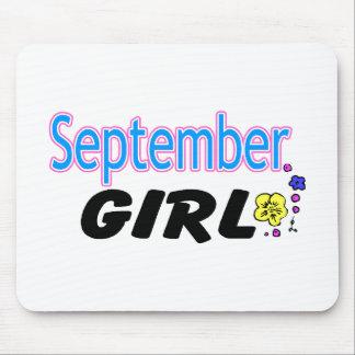 September Girl Mouse Pad