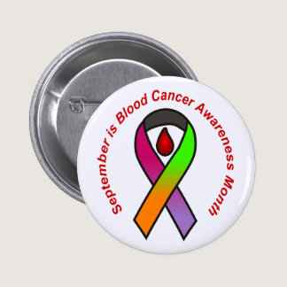 September is Blood Cancer Awareness Month Button