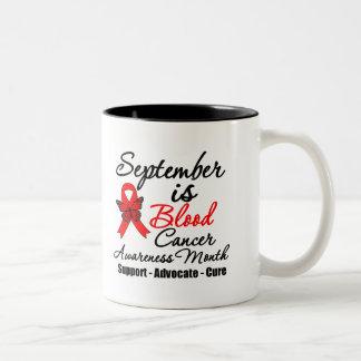 September is Blood Cancer Awareness Month v2 Coffee Mug