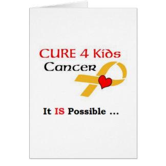 SEPTEMBER IS: CHILDREN'S CANCER AWARENESS MONTH CARD