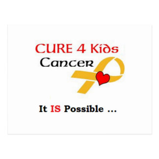 SEPTEMBER IS: CHILDREN'S CANCER AWARENESS MONTH POSTCARD